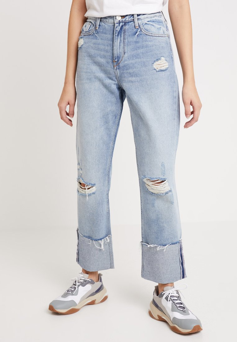 River Island - Relaxed fit jeans - light auth