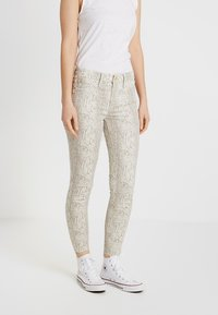 River Island - Jeans Skinny Fit - beige/white - 0
