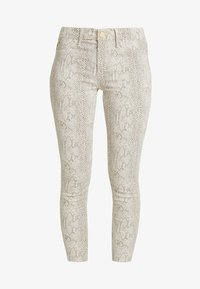 River Island - Jeans Skinny Fit - beige/white - 3