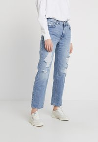 River Island - Jeans relaxed fit - blue denim - 0