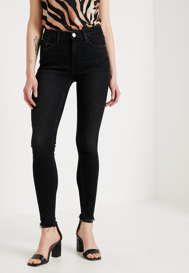 AMELIE NIGHTSHADE - Jeansy Skinny Fit - washed black