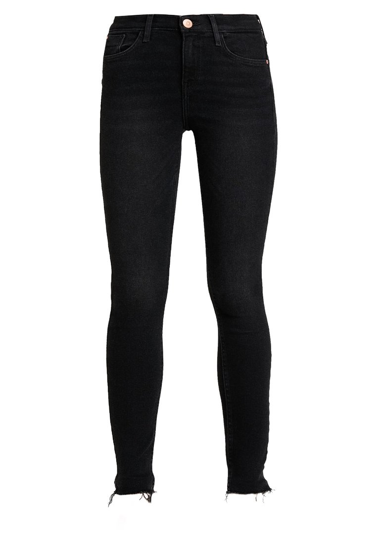 River Island Amelie Nightshade - Jeans Skinny Washed Black