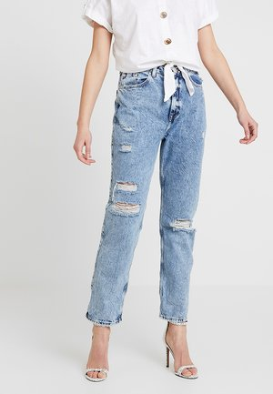 Relaxed fit jeans - mid acid