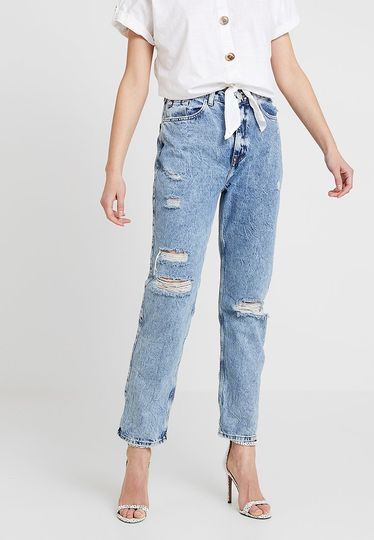 River Island - Jeans Relaxed Fit - mid acid
