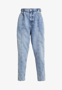 River Island - Jeansy Relaxed Fit - blue denim - 4