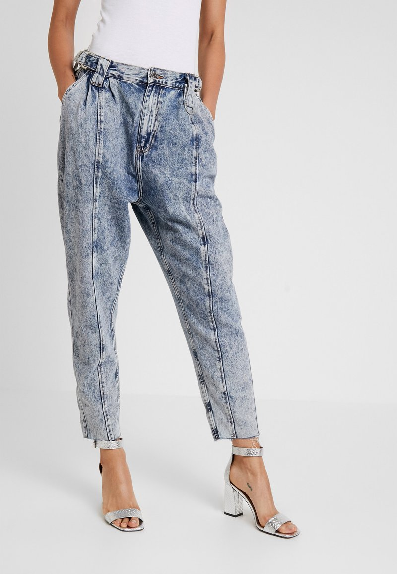 River Island - Relaxed fit jeans - acid mid