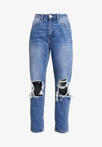 River Island - Jeans straight leg - mid auth - 3