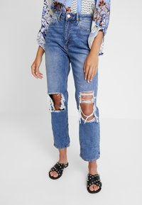 River Island - Jeans straight leg - mid auth - 0