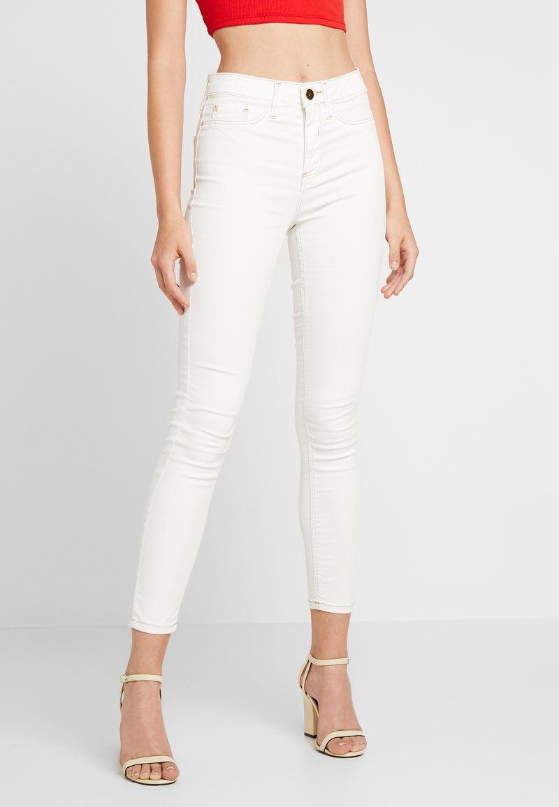 River Island - MOLLY CHAMPAGNE - Jeans Skinny Fit - white coated
