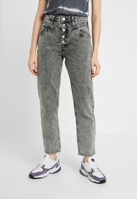 River Island - Jeans relaxed fit - black - 0