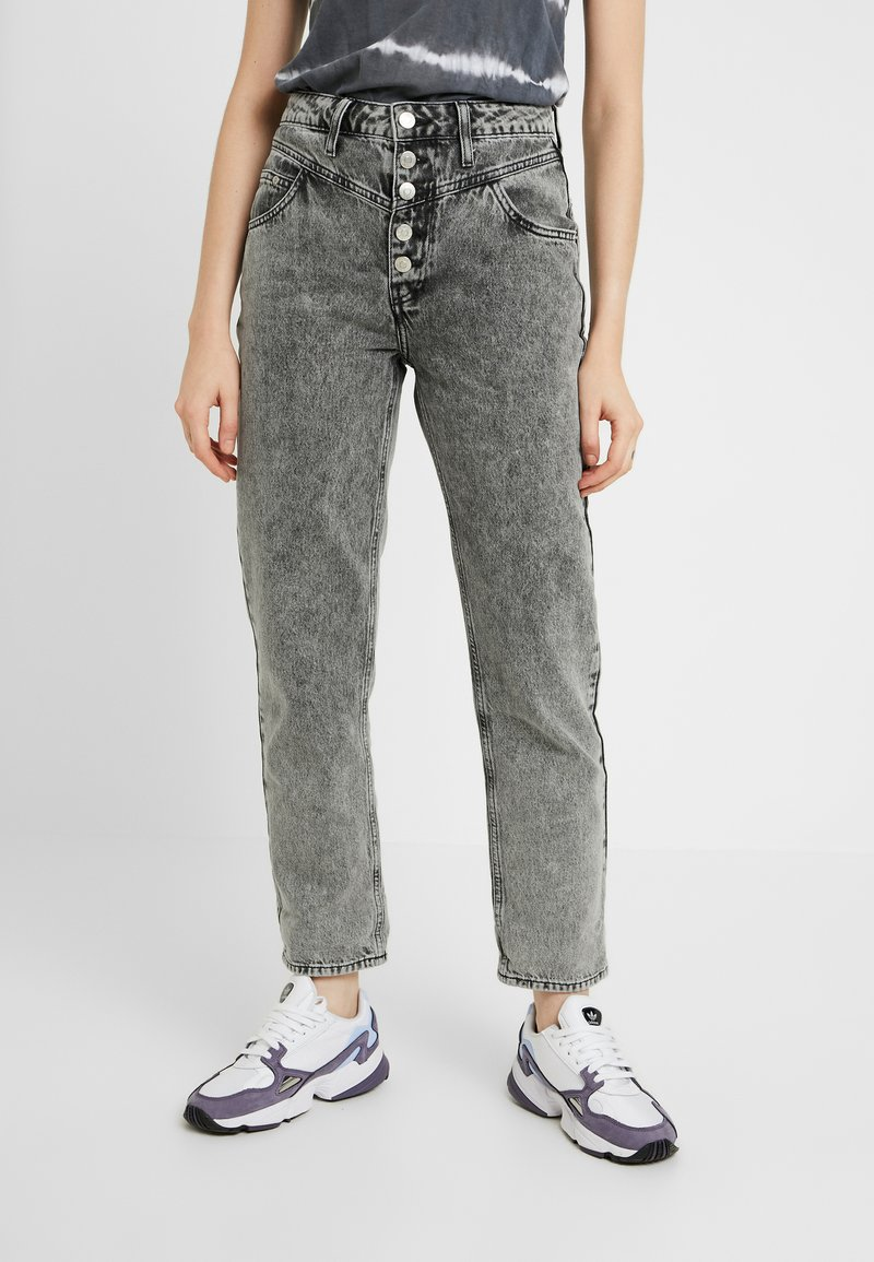 River Island - Jeans relaxed fit - black
