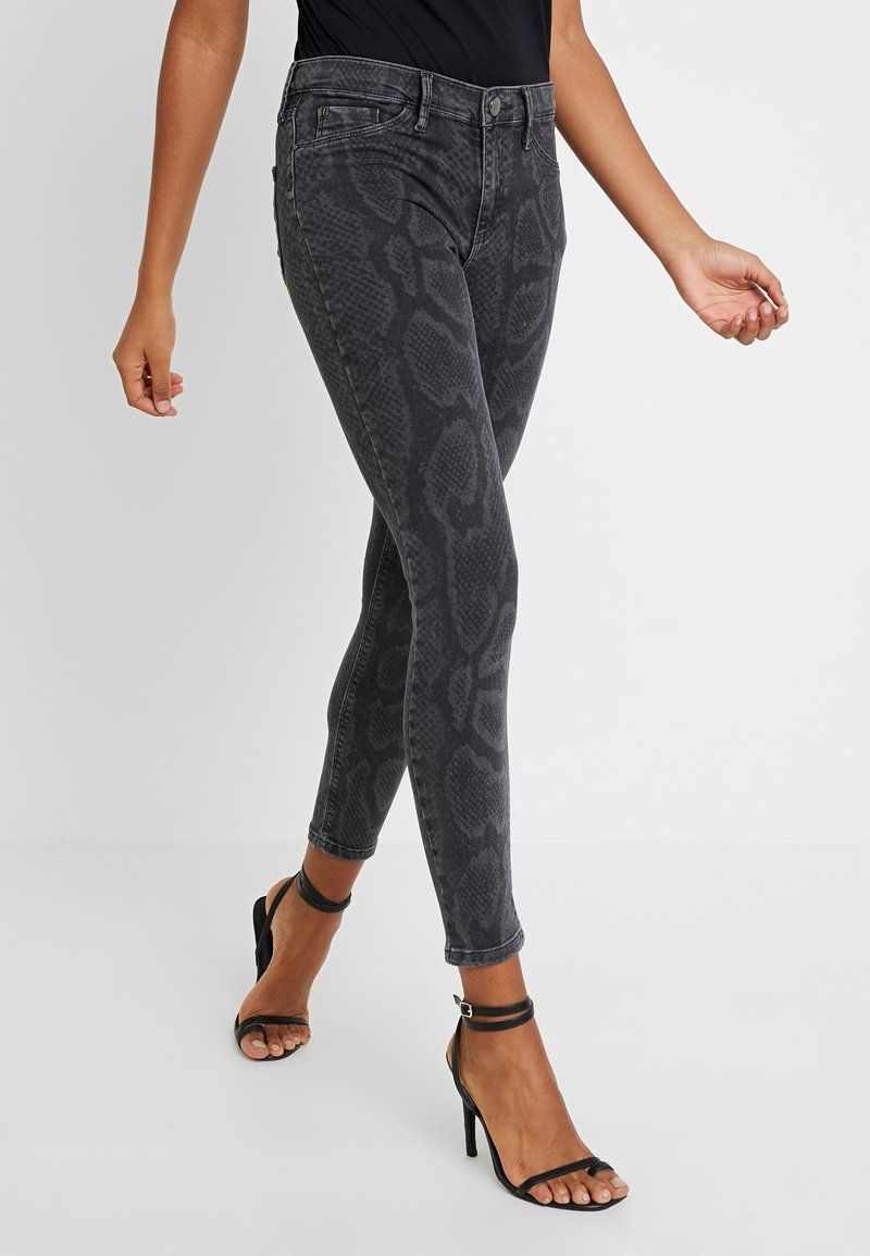 River Island - MOLLY PYTHON - Jeans Skinny Fit - grey