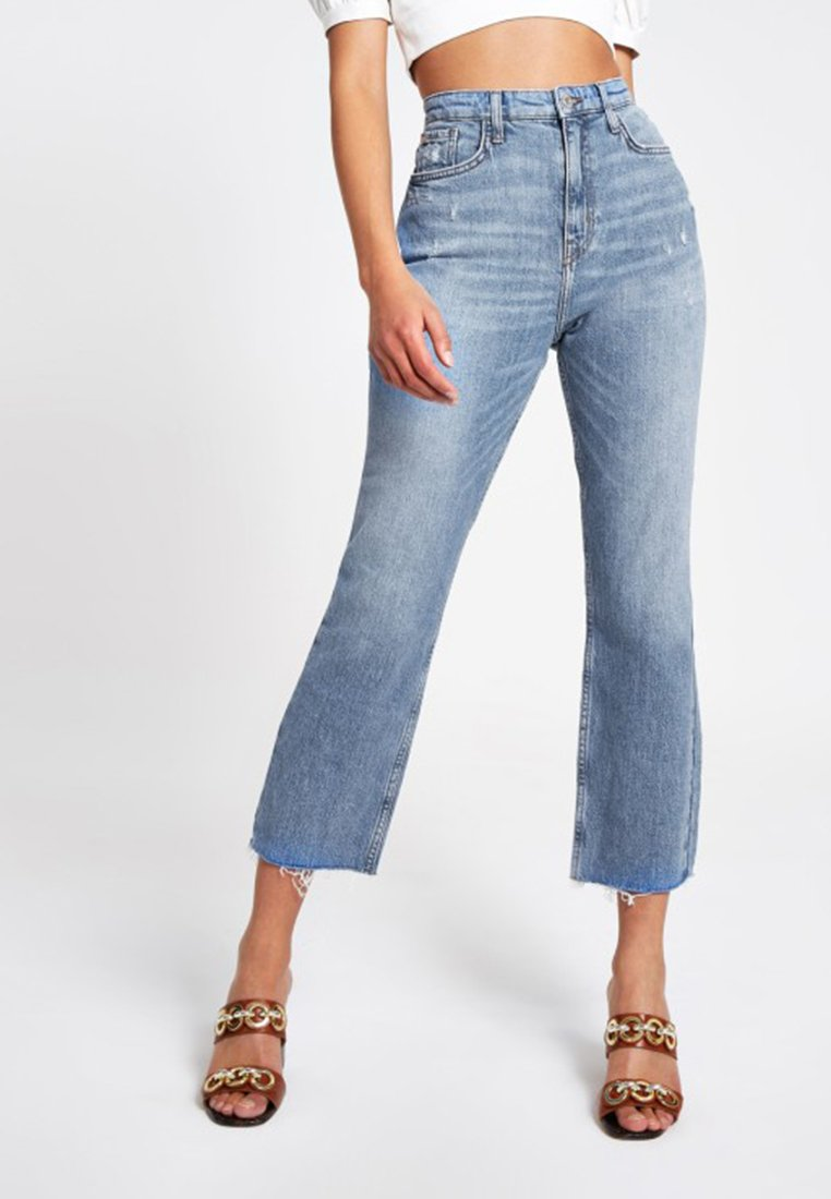 River Island - Bootcut jeans - blue
