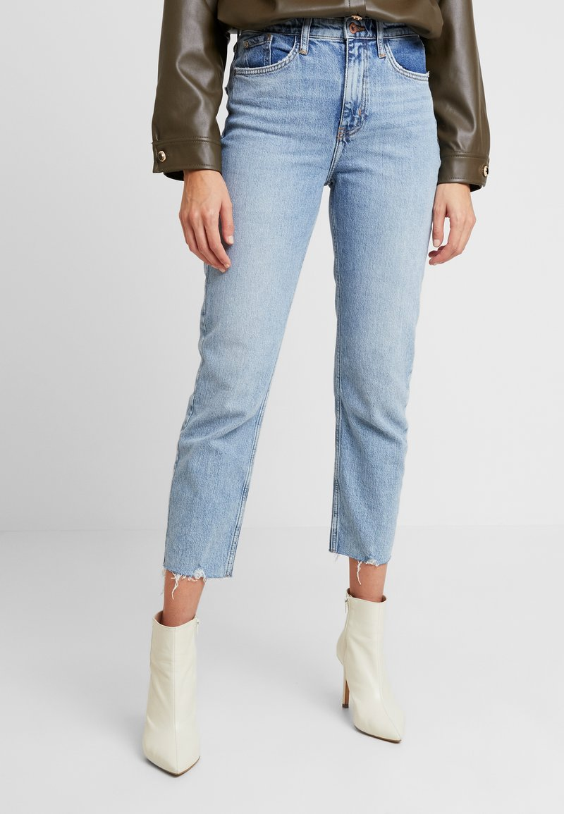 River Island - Relaxed fit jeans - denim light
