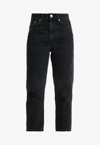 River Island - Jeans straight leg - washed black - 4
