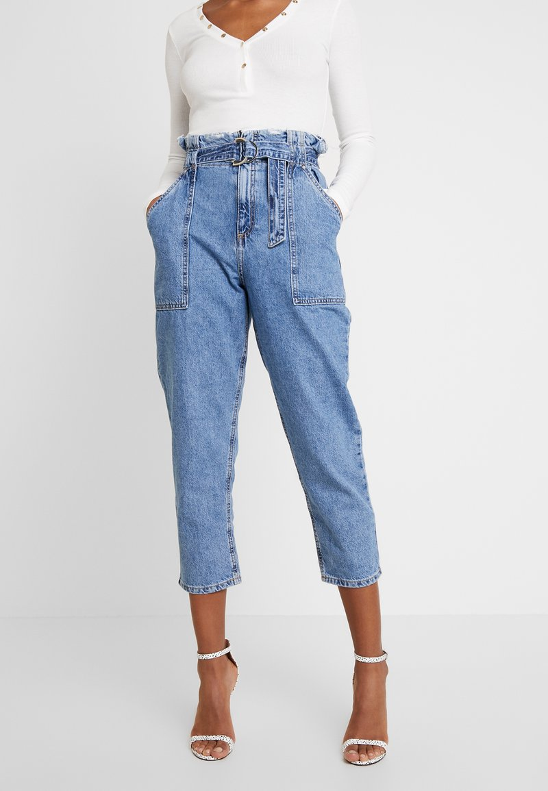 River Island - Relaxed fit jeans - mid auth