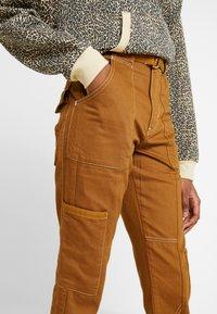 River Island - Slim fit jeans - brown - 4
