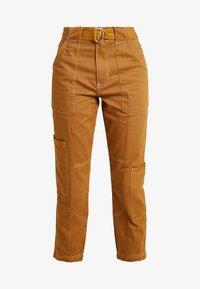 River Island - Slim fit jeans - brown - 3