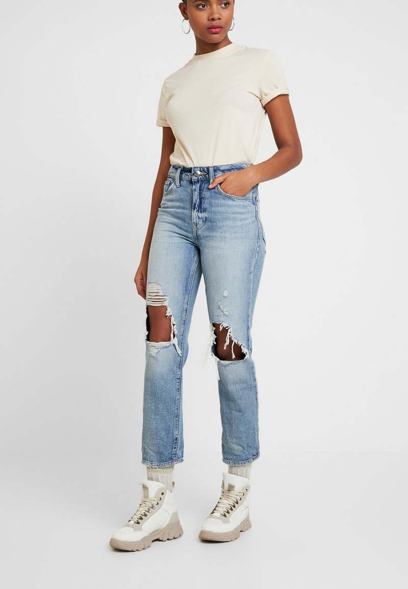 River Island - Jeans Relaxed Fit - denim medium