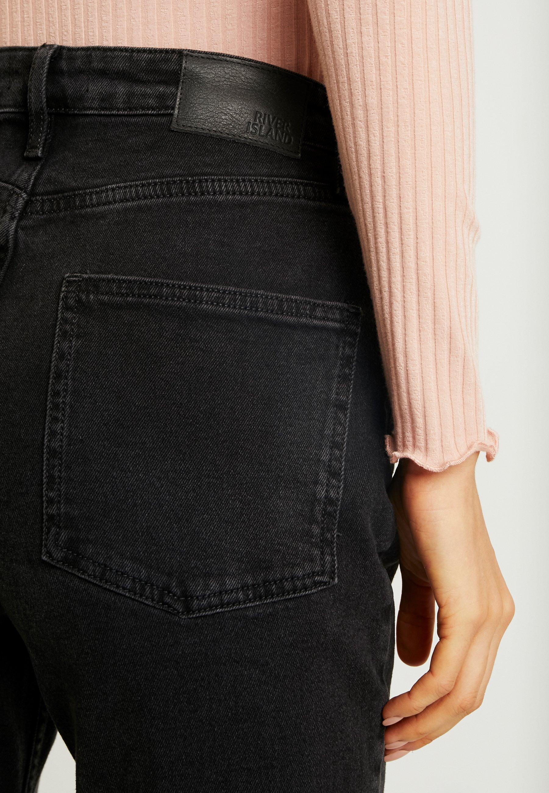A River Island Jeans Sigaretta Black vmIY7ygbf6