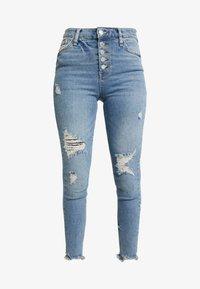 River Island - Jeans Skinny Fit - denim medium - 4