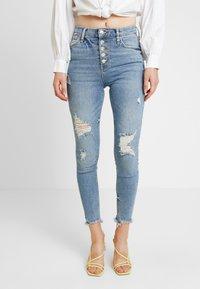 River Island - Jeans Skinny Fit - denim medium - 0