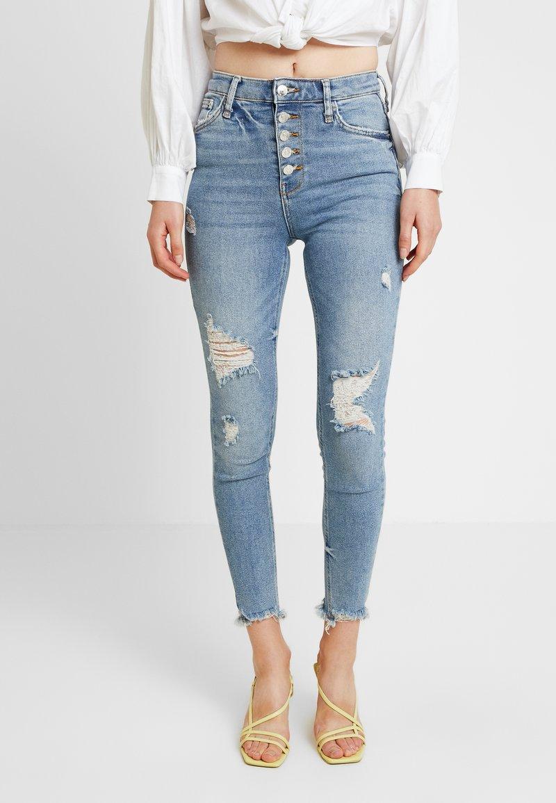River Island - Jeans Skinny Fit - denim medium