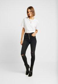 River Island - Jeans Skinny Fit - black - 1
