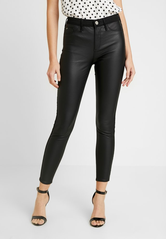 MOLLY - Jeansy Skinny Fit - black coated