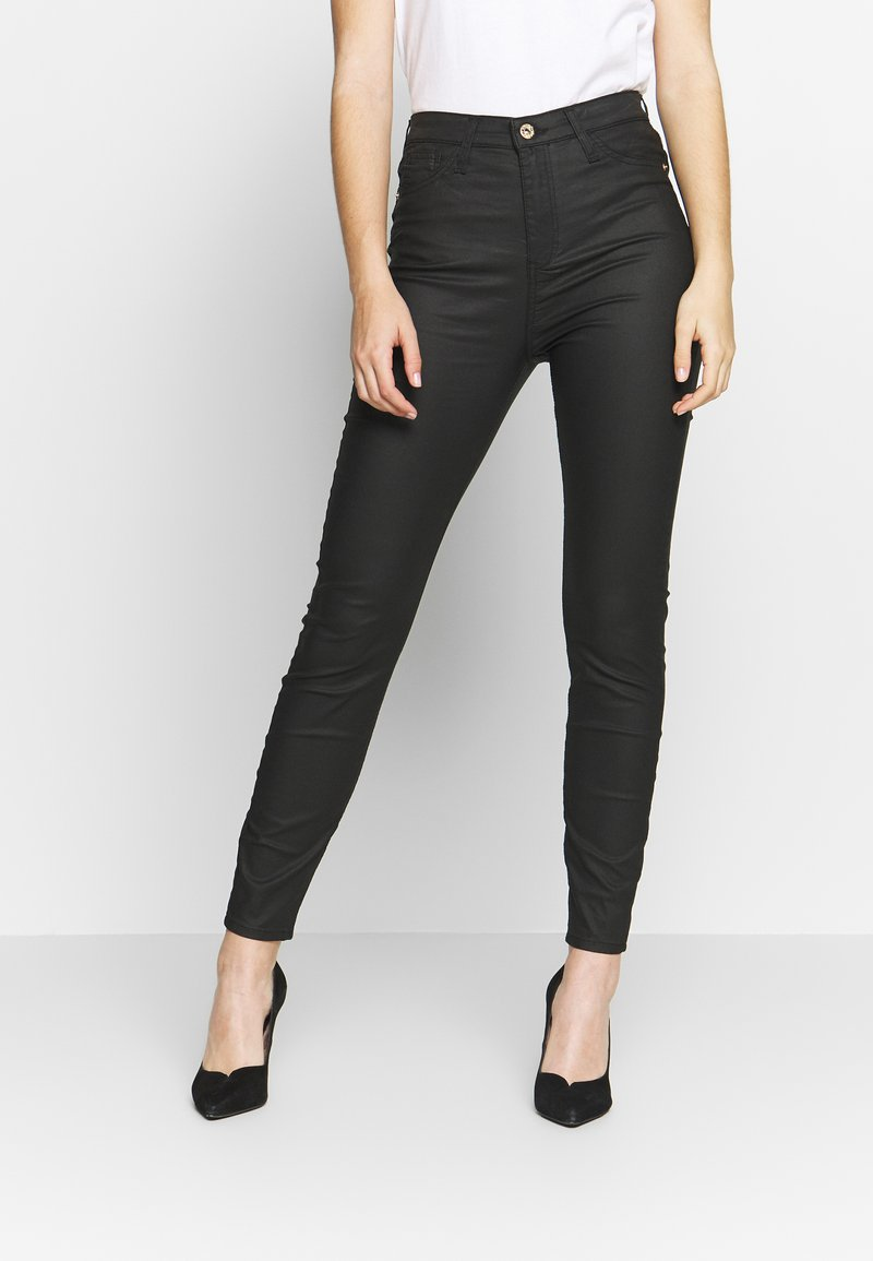 River Island - HAILEY - Jeans Skinny Fit - black