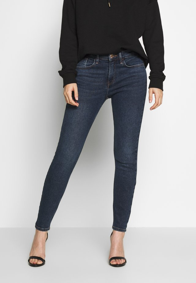 AMELIE - Jeans Skinny Fit - dark-blue denim