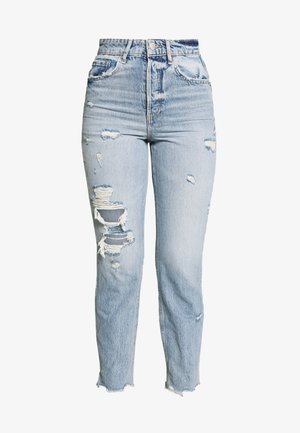 Relaxed fit jeans - mid wash