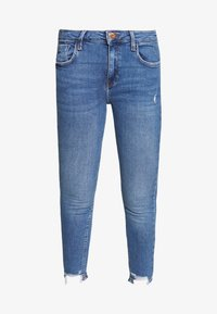 River Island - AMELIE - Jeans Skinny Fit - mid wash - 3