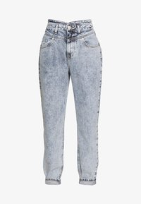 River Island - Džíny Relaxed Fit - mid acid wash - 3