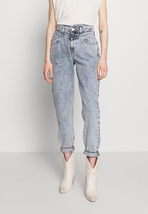 Relaxed fit jeans - mid acid wash