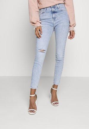 HAILEY CHRISTIE - Jeans Skinny Fit - light-blue denim