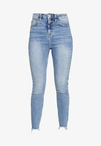 River Island - HAILEY  - Jeans Skinny Fit - mid wash - 3