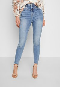 River Island - HAILEY  - Jeans Skinny Fit - mid wash - 0