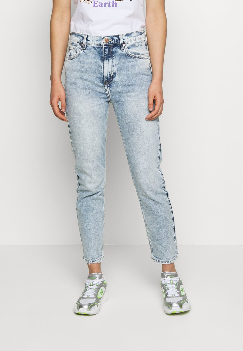 River Island - Relaxed fit jeans - light blue denim