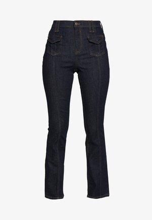 Flared jeans - dark wash