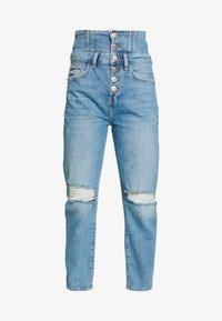 River Island - Jeans slim fit - light wash - 4