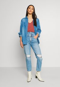 River Island - Jeans slim fit - light wash - 1