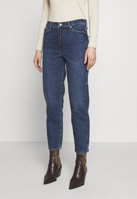 River Island - Straight leg jeans - mid auth - 0