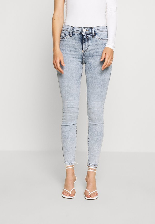 MOLLY MONTY - Skinny-Farkut - light-blue denim