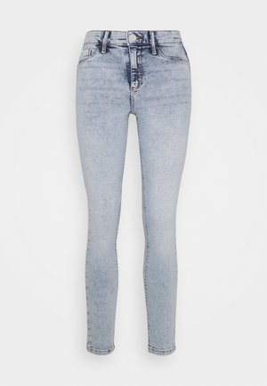 MOLLY MONTY - Jean droit - light-blue denim
