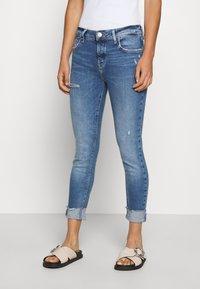 River Island - Slim fit jeans - blue denim - 0