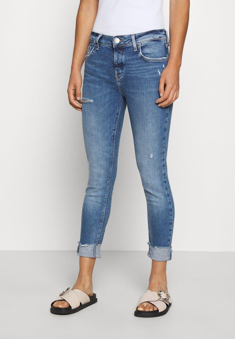River Island - Slim fit jeans - blue denim