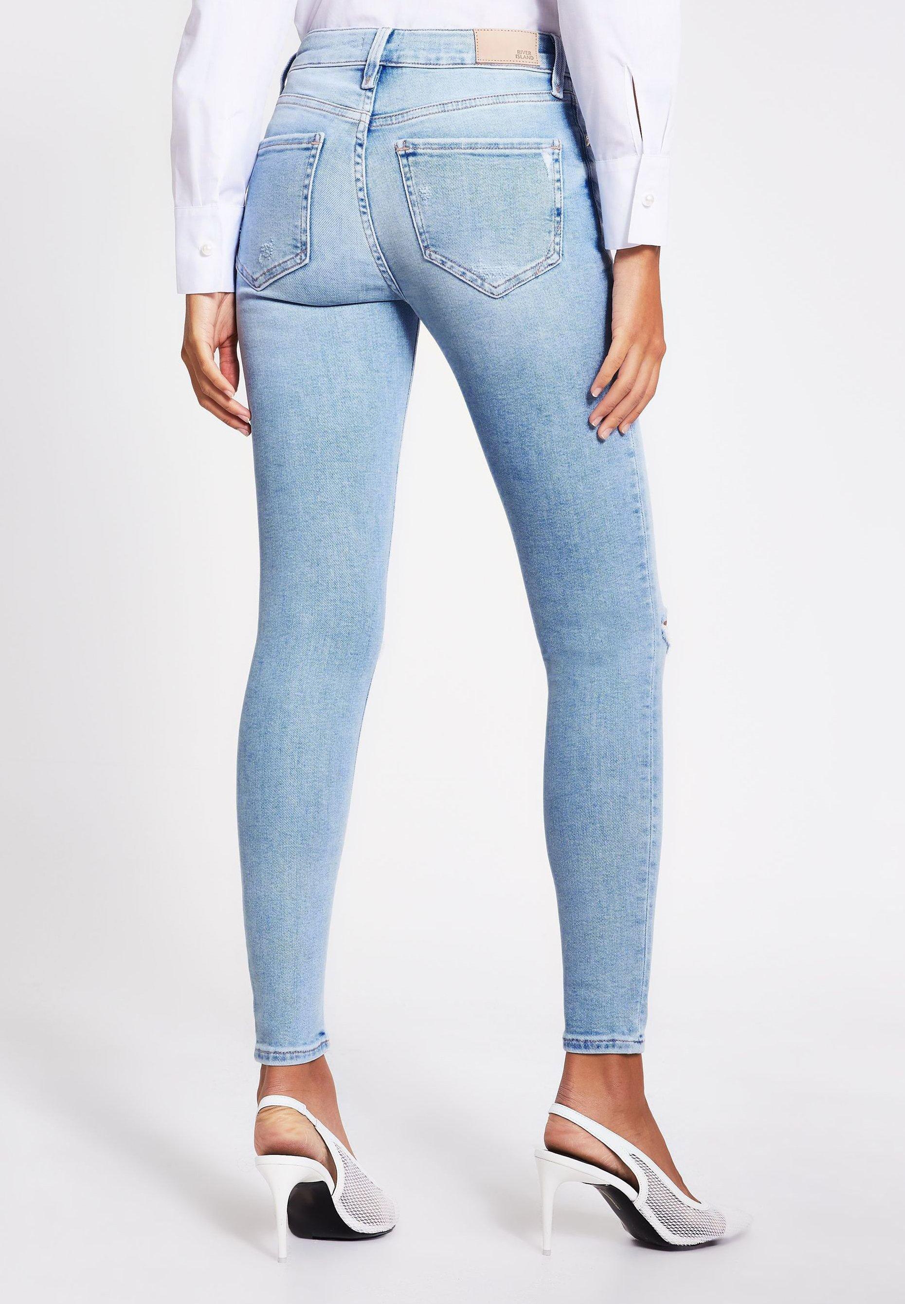 River Island Jeans Skinny - Blue