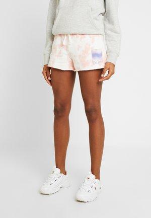 Shorts - white print