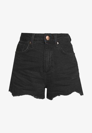 ANNIE - Short en jean - black